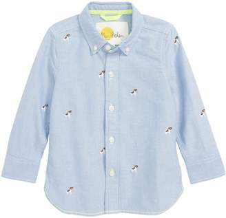 Boden Mini Fun Embroidered Shirt