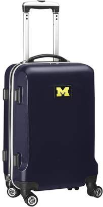 NCAA Denco Sports Luggage Michigan Wolverines 19 1/2-in. Hardside Spinner Carry-On