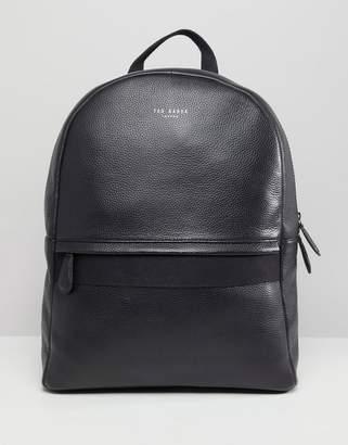 Ted Baker Rickrack backpack in leather