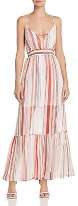 BB Dakota Luciana Striped Maxi Dress