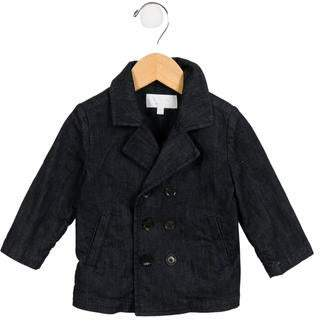 Gucci Boys' Double-Breasted Denim Peacoat