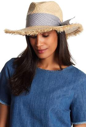 Melrose and Market Bow Panama Hat