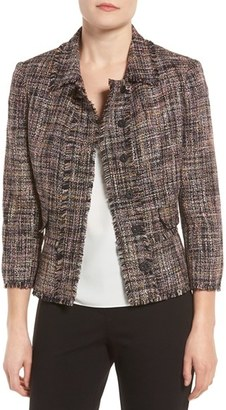 Women's Ivanka Trump Tweed Peplum Jacket $149 thestylecure.com