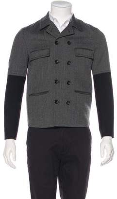 Balenciaga Double-Breasted Virgin Wool Blazer
