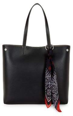 Calvin Klein Rachel Textured Leather Tote