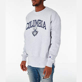 Champion Men's Columbia Lions College Reverse Weave Crewneck Sweatshirt