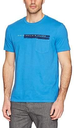Calvin Klein Jeans Men's Short Sleeve T-Shirt Pocket Print Crew Neck