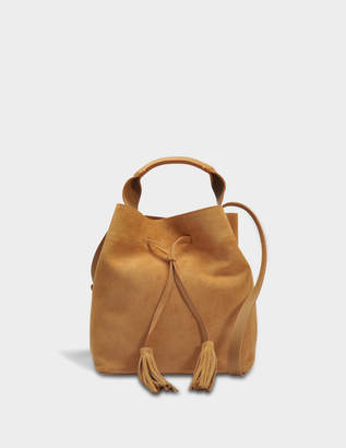 Gerard Darel Saxo Bag in Tan Leather