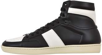 Saint Laurent Black High Top Sneaker