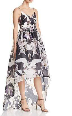 Bariano Printed Organza Gown - 100% Exclusive