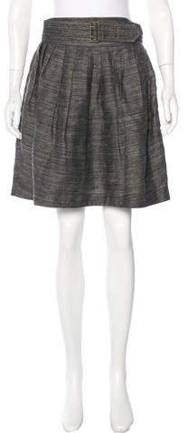 3.1 Phillip Lim 3.1 Phillip Lim Pleated Knee-Length Skirt