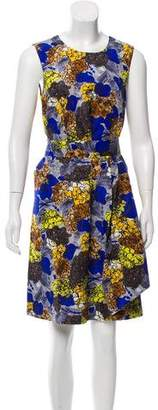 Prada Sleeveless Floral Dress