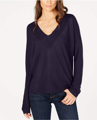 Eileen Fisher Tencel V-Neck Sweater, Regular & Petite