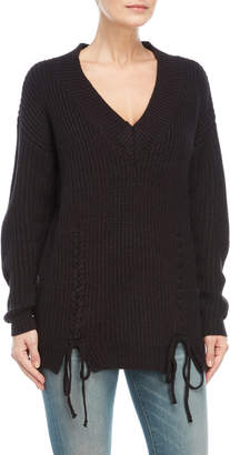 Vero Moda Chunky Lace-Up Pullover