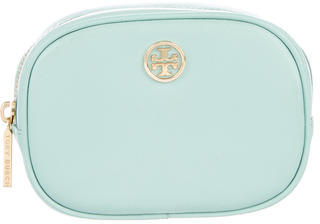 Tory Burch Tory Burch Leather Cosmetic Pouch