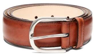 Paul Smith Dyed Leather Belt - Mens - Brown