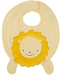Barneys New York Barney The Lion Bib-Yellow