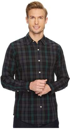 Dockers Premium Laundered Fitted Long Sleeve Shirt Men's Clothing