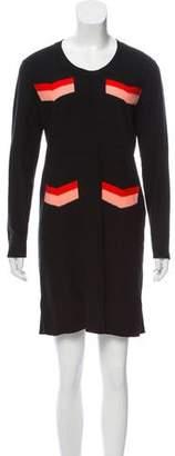 Sonia Rykiel Sonia by Patterned Knit Dress
