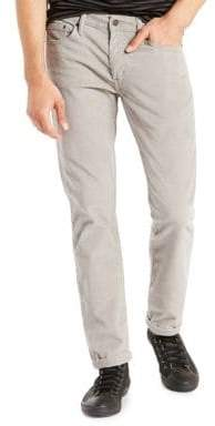 Levi's 511 Slim Fit Corduroy Pants Griffin