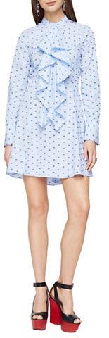 BCBGMAXAZRIABcbgmaxazria Chelsea Dotted Shirt Dress