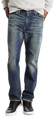 Levi's 513 Slim Straight Stretch Jeans