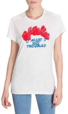 Off-White Heart Not Troubled Tee
