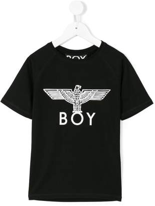 Boy London Kids logo print T-shirt