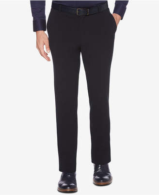Men's Portfolio Slim-Fit Stretch Seersucker Dress Pants
