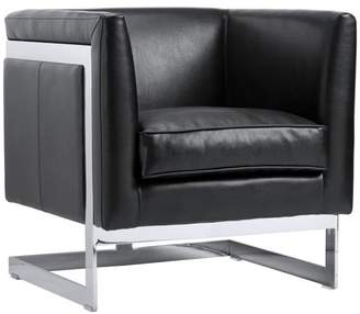 1st Avenue Ada Bonded Leather Armchair