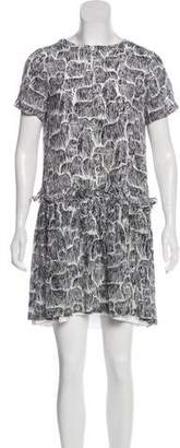 Opening Ceremony Printed Mini Dress w/ Tags