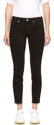 Amo Black Stix Crop Jeans
