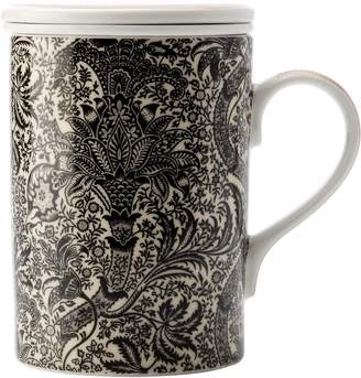 Maxwell & Williams William Morris Black Seaweed Infuser Mug, 350ml