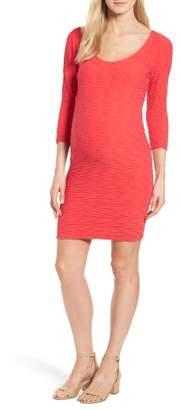 Tees by Tina Crinkle Maternity Sheath Dress
