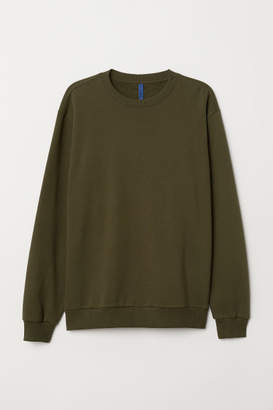 H&M Relaxed-fit Sweatshirt - Green