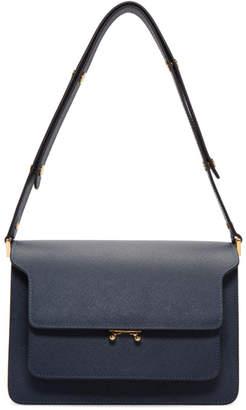 Marni Blue Medium Trunk Bag