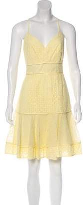 Marchesa Voyage Sleeveless Mini Dress w/ Tags
