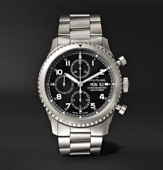 Breitling Navitimer 8 Chronograph 43mm Steel Watch