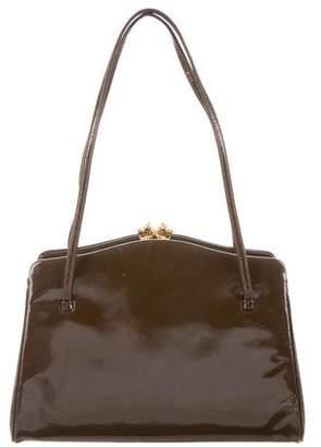 Judith Leiber Leather Handle Bag