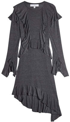 IRO Jersey Dress with Ruffles