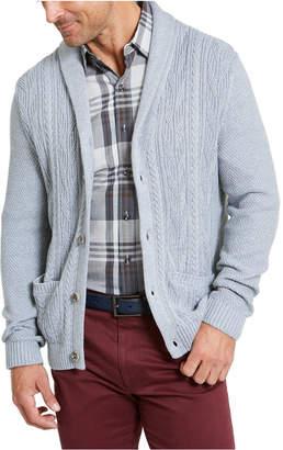 Tasso Elba Men Chunky Shawl Cardigan Sweater