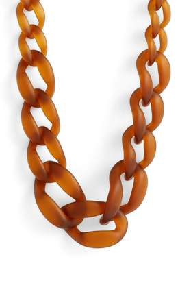 Knotty Link Necklace