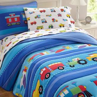 Olive Kids Trucks Bedding Sheet Set