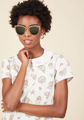 Quay Super Girl Sunglasses in Rose Gold $59.99 thestylecure.com