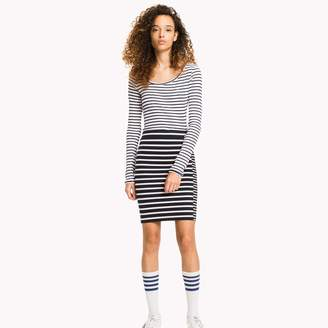 Tommy Hilfiger Mix Stripe Pencil Skirt