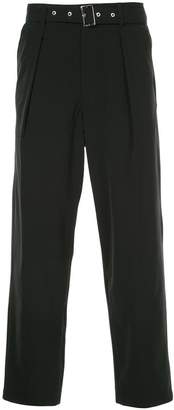GUILD PRIME belted trousers