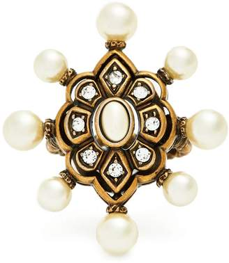Gucci Pearl-embellished ring