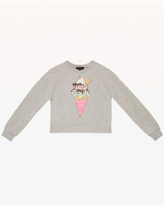 Juicy Couture Too Cool French Terry Pullover for Girls