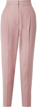 Max Mara Wool Tapered Pants - Blush