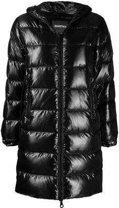 Duvetica hooded padded coat